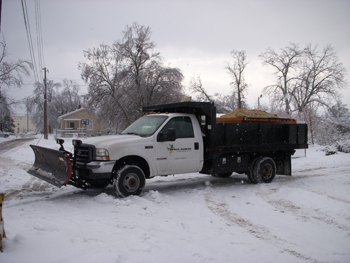 Snow Removal Equipement Dump Truck